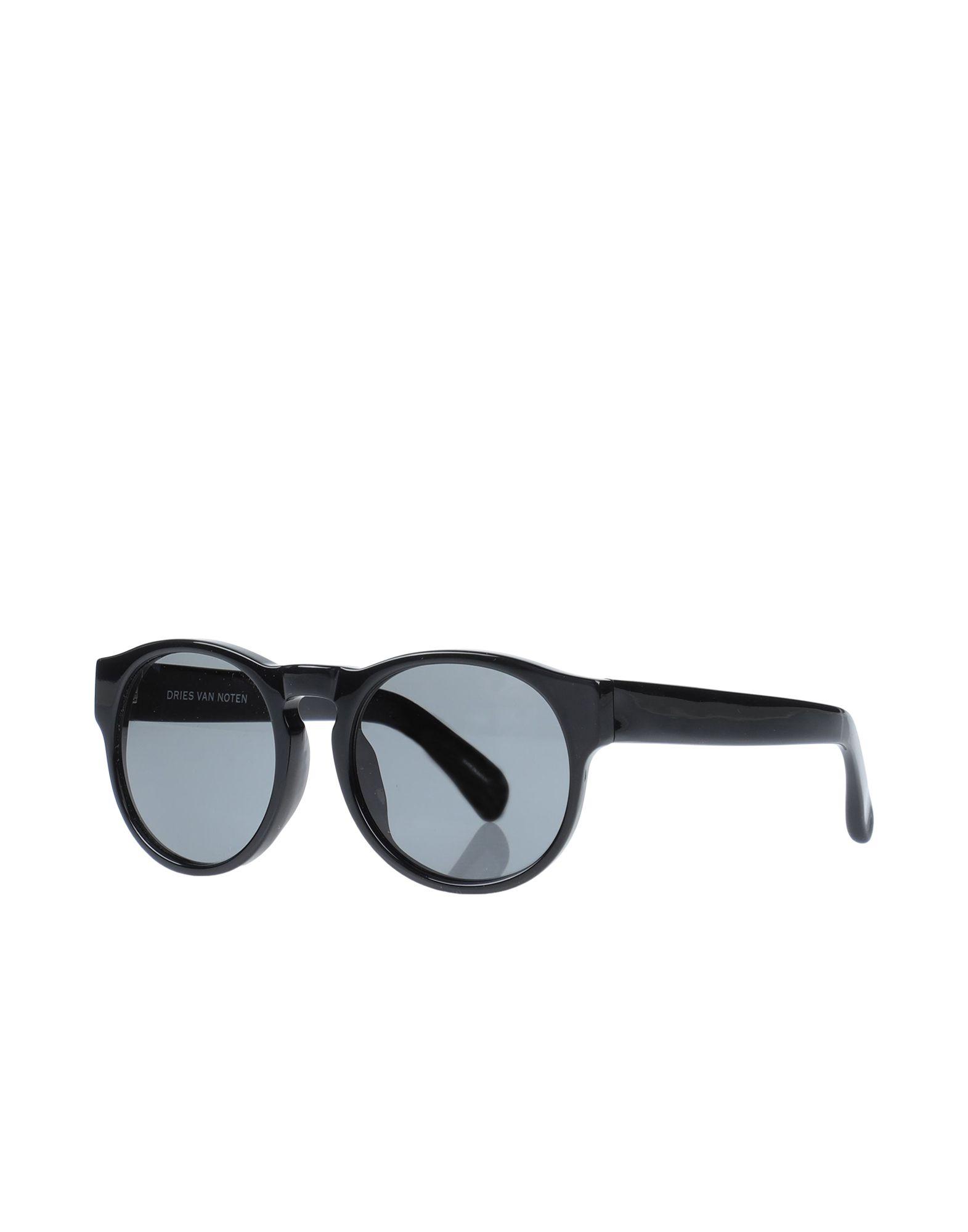 цена LINDA FARROW x DRIES VAN NOTEN Солнечные очки онлайн в 2017 году