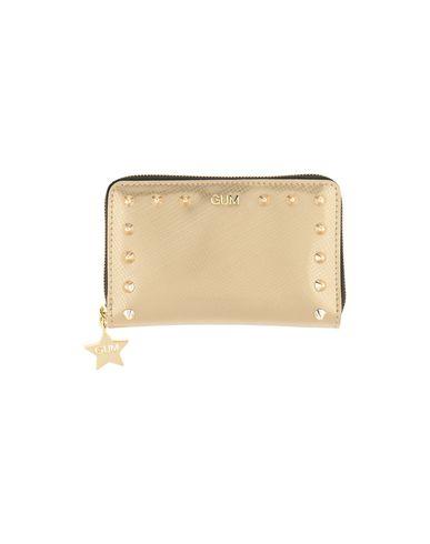 Фото - Бумажник от GUM BY GIANNI CHIARINI золотистого цвета