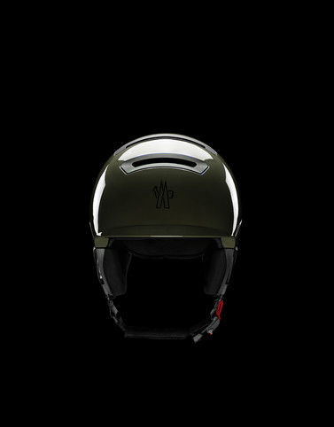 SKI HELMET Military green Grenoble Special Woman