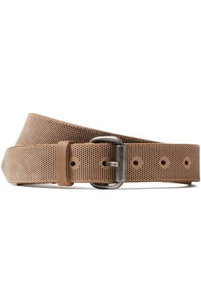 IRO Mareva perforated leather belt