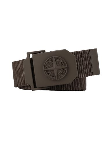 STONE ISLAND 94071 Belt Man Olive Green USD 144