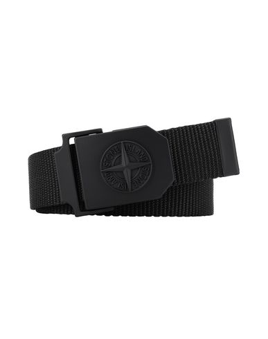 STONE ISLAND 94071 Belt Man Black USD 144