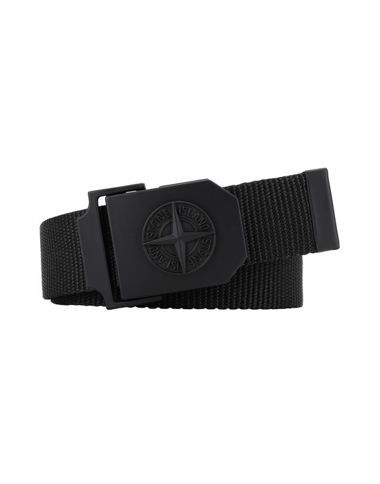 STONE ISLAND 94071 Belt Man Black