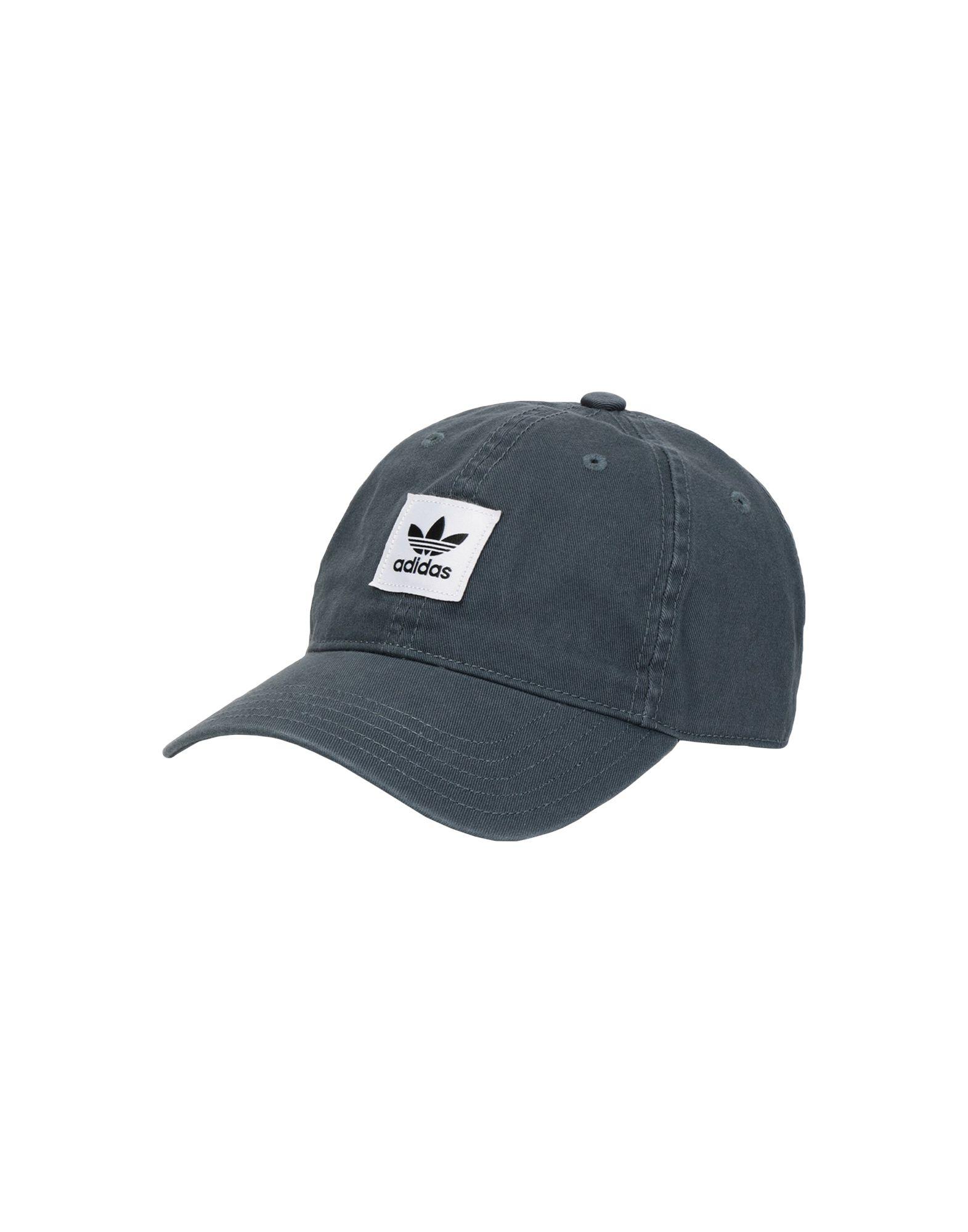 《セール開催中》ADIDAS ORIGINALS Unisex 帽子 鉛色 one size コットン 100% WASHED DAD CAP