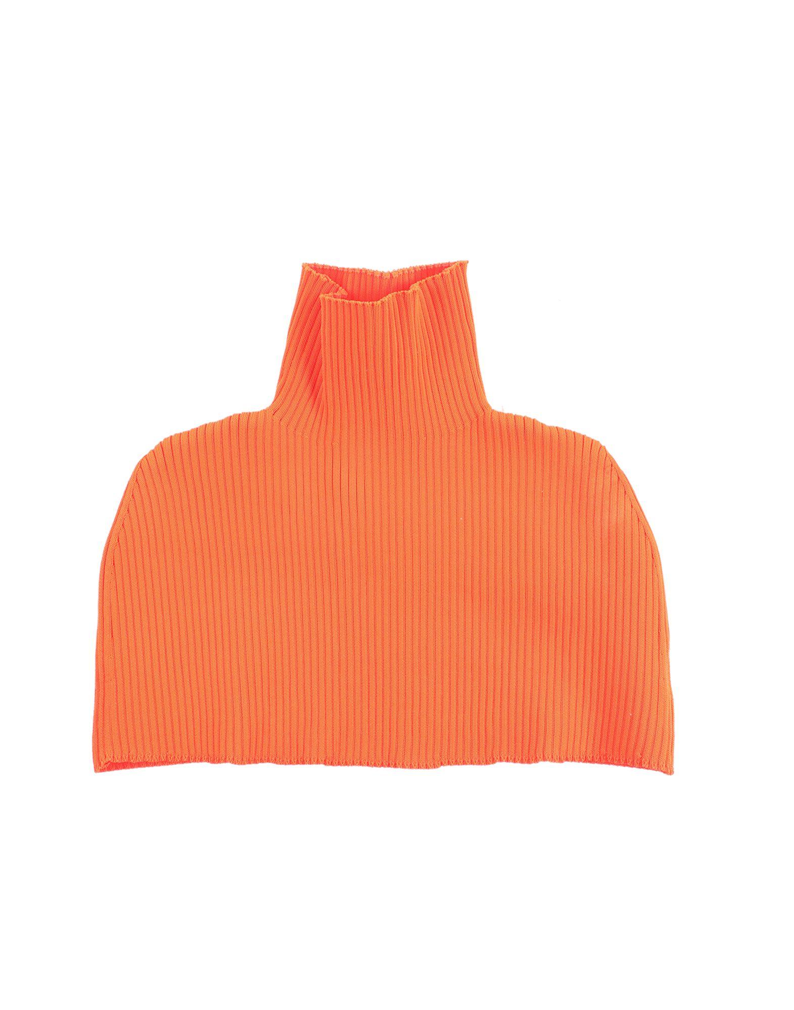 《セール開催中》GCDS レディース ネックカラー オレンジ S ポリエステル 94% / ポリウレタン 6%