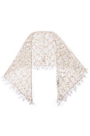 MISSONI Crochet-knit cotton wrap