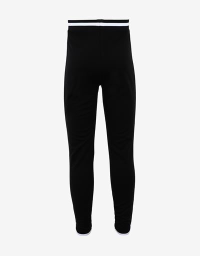Girls' leggings in Milano rib with contrasting details