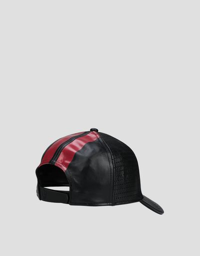 Leather Racing cap
