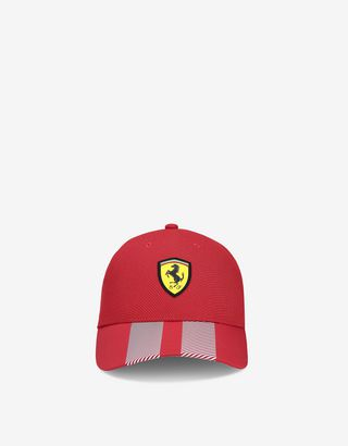 Scuderia Ferrari Online Store - Seamless men's Racing cap - Baseball Caps