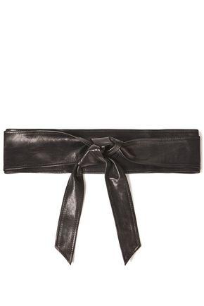 IRO Simply leather waist belt