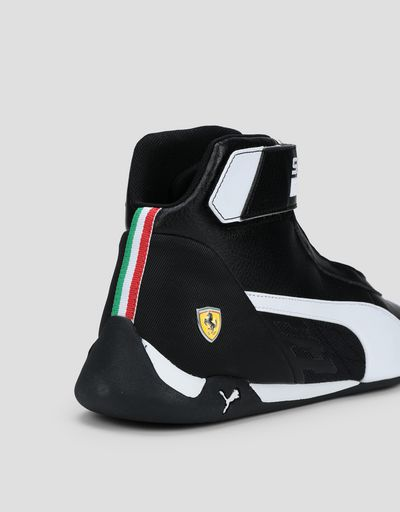 Scuderia Ferrari Online Store - Puma Ferrari Race R-cat Mid Shoes - Active Sport Shoes
