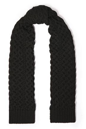 RAG & BONE Cable-knit merino wool-blend scarf