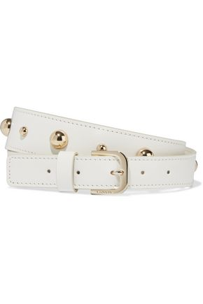 LANVIN Studded leather belt
