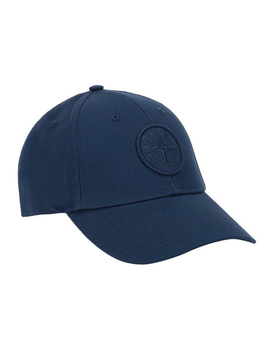 STONE ISLAND 99168 Cap Man Marine Blue
