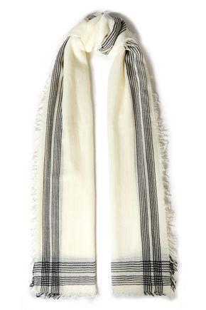 RAG & BONE Nassau striped wool-gauze scarf