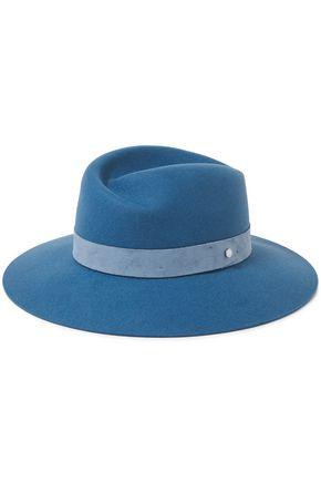 RAG & BONE スエードトリム ウールフェルト ソフト帽