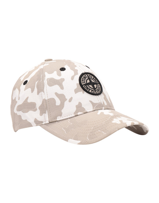Chapeau Homme 90667 CAMOUFLAGE Front STONE ISLAND JUNIOR