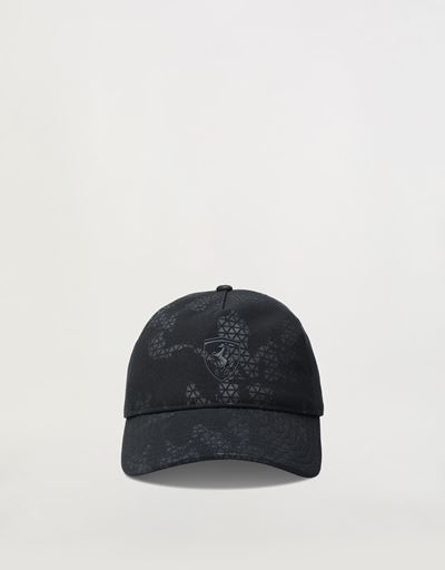 Cap with camouflage motif