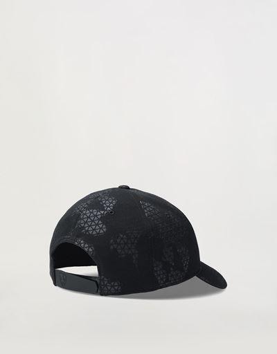 Cappellino con motivo camouflage