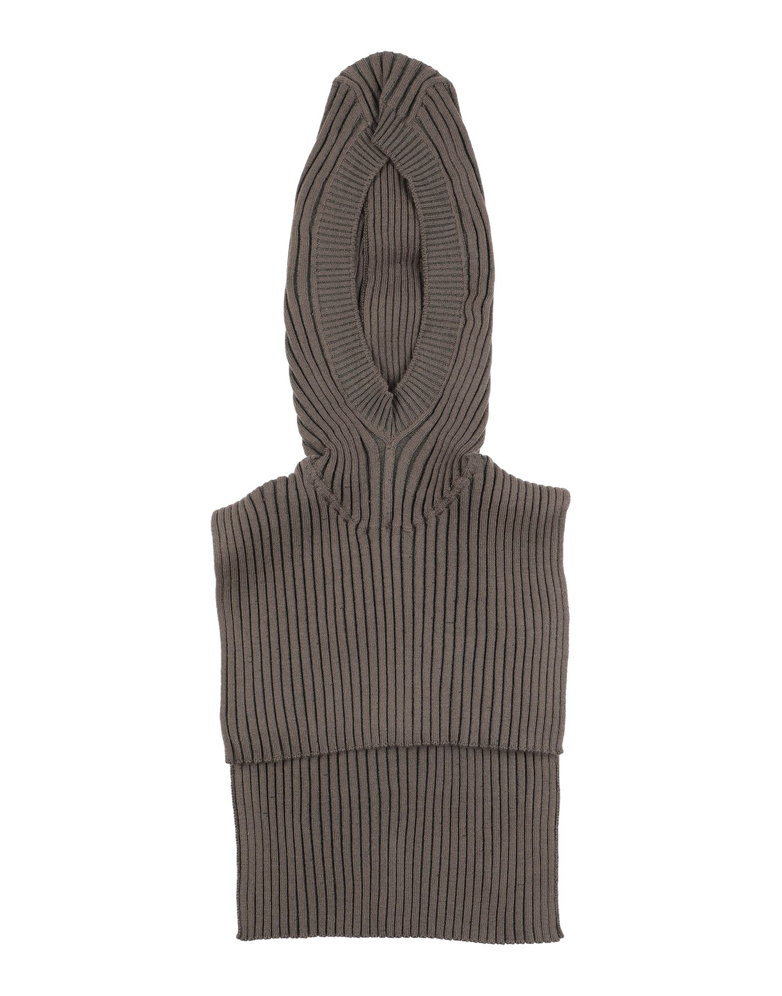 MM6 MAISON MARGIELA Hats. knitted, no appliqués, basic solid color, lightweight sweater, unlined. 48% Wool, 47% Acrylic, 4% Polyamide, 1% Elastane