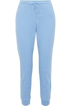 CHINTI & PARKER Two-tone cotton-jersey track pants
