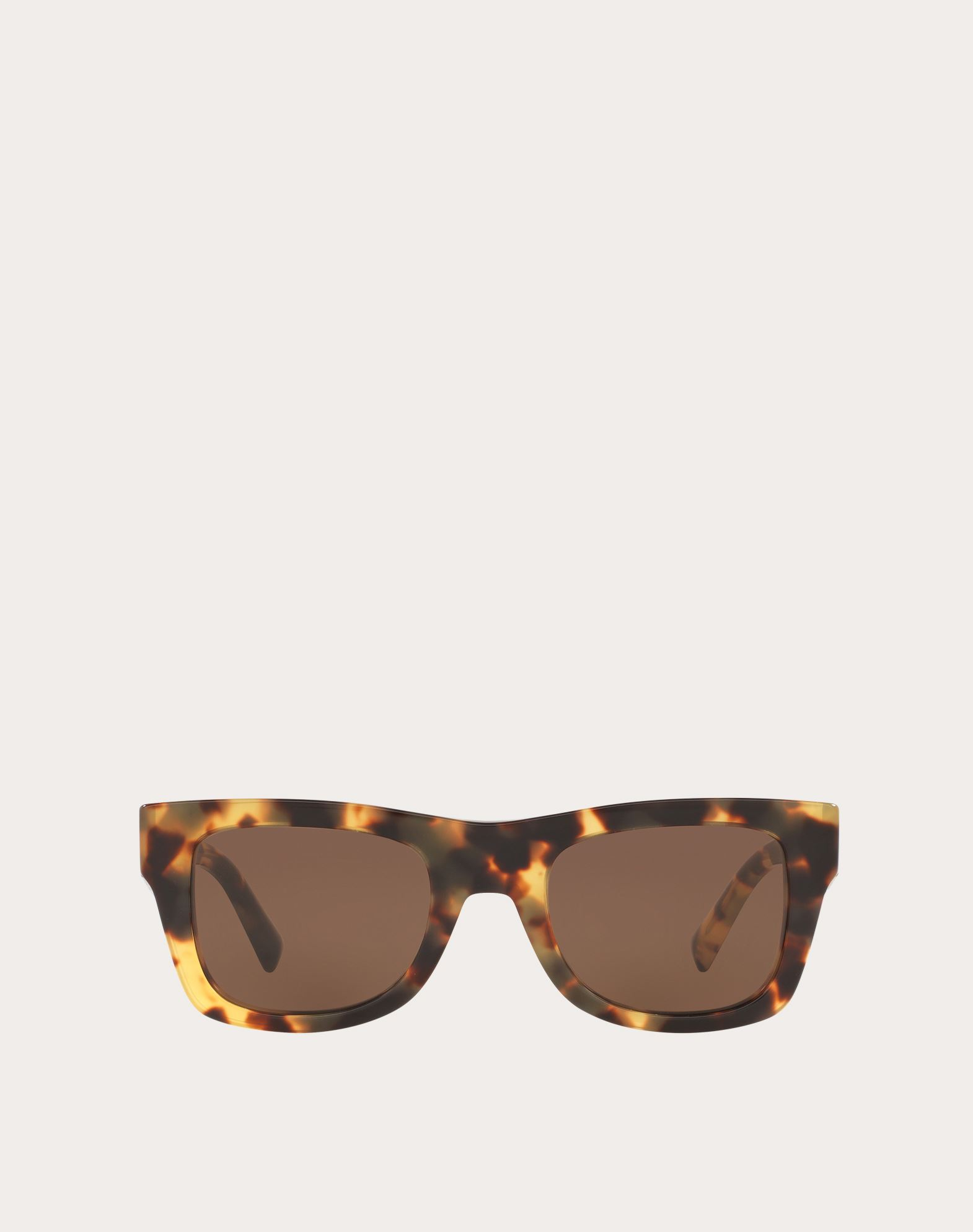 VLTN SQUARE FRAME ACETATE SUNGLASSES