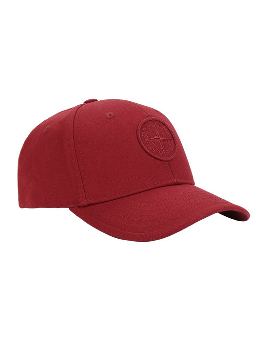 STONE ISLAND BABY 91265 Cap Man Brick red