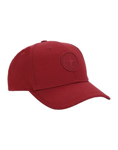 STONE ISLAND KIDS 91265 Cap Man Brick red EUR 64