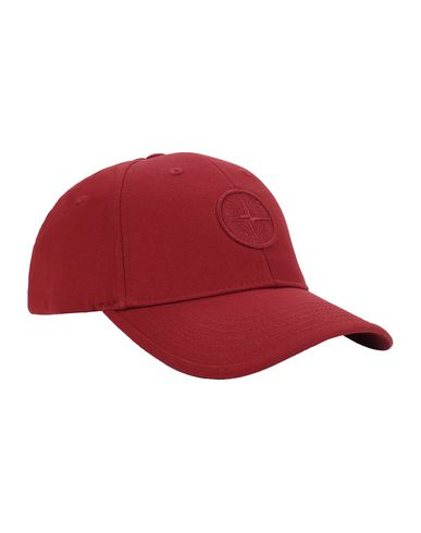 STONE ISLAND JUNIOR 91265 Cap Man Brick red EUR 49
