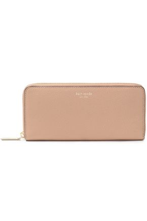 KATE SPADE New York Margaux pebbled-leather continental wallet