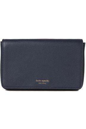 KATE SPADE New York Sylvia textured-leather wallet