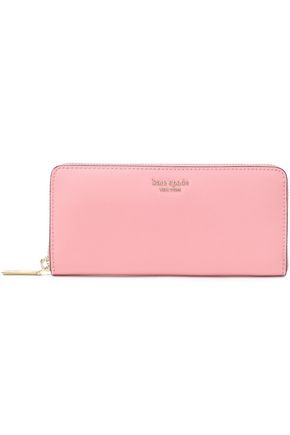KATE SPADE New York Sylvia textured-leather continental wallet