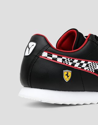 Scuderia Ferrari Online Store - Men's Puma Scuderia Ferrari Roma Shoes - Active Sport Shoes