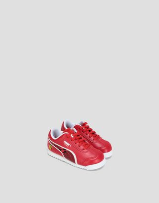 Scuderia Ferrari Online Store - Puma Scuderia Ferrari Roma shoes for infants - Active Sport Shoes