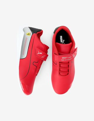 Scuderia Ferrari Online Store - Puma Scuderia Ferrari Race Drift Cat 8 V shoes for boys - Active Sport Shoes