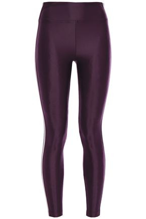 KORAL Trainer Energy High Rise metallic-trimmed stretch leggings