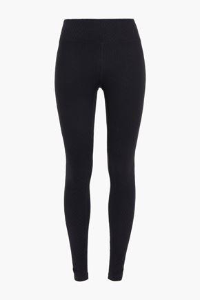 KORAL Pine Drive Mid Rise stretch-jersey leggings