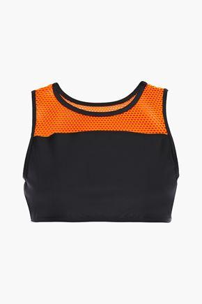 KORAL Rotation Versatility mesh-paneled stretch sports bra