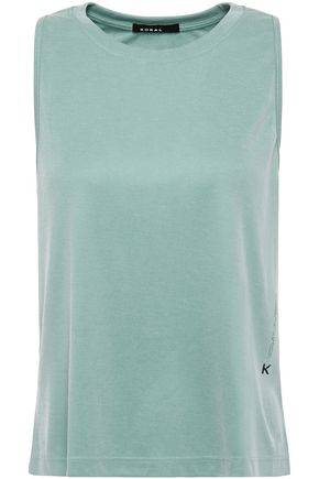 KORAL Muscle Marlow ribbed modal-blend jersey top