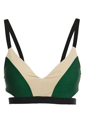 KORAL Limerance color-block stretch sports bra