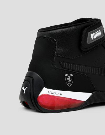 Scuderia Ferrari Online Store - Puma Scuderia Ferrari Kart Cat X Mid shoes - Active Sport Shoes