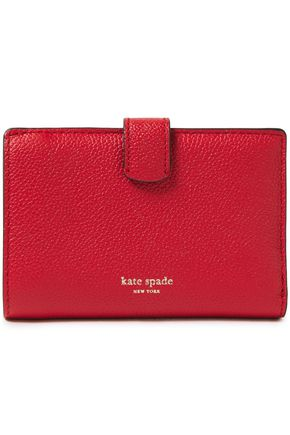 KATE SPADE New York Margaux pebbled-leather wallet