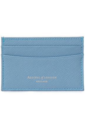 ASPINAL OF LONDON Textured-leather cardholder
