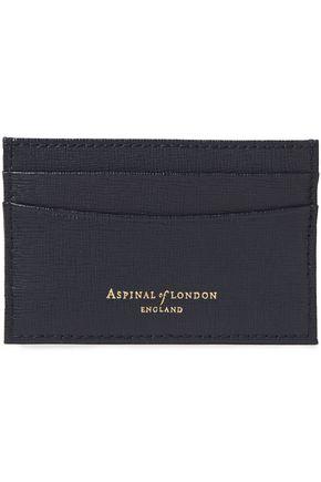 ASPINAL OF LONDON محفظة لحمل البطاقات من الجلد المحبب