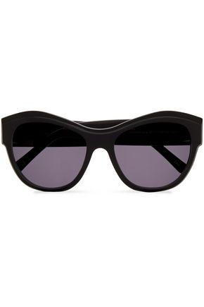 """ANDY WOLF نظارات شمسية """"فيرجينيا"""" على شكل عيني القطة من الأسيتات بنقوش السلحفاة"""
