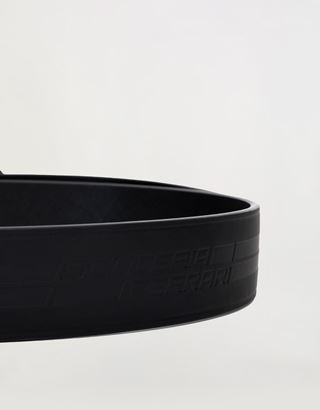 Scuderia Ferrari Online Store - Reversible men's belt with metal buckle - Reversible Belts