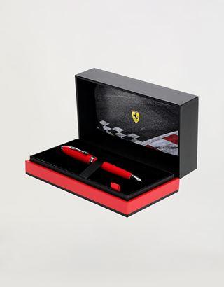 Scuderia Ferrari Online Store - Cross Townsend Scuderia Ferrari Ballpoint Pen in Racing Red - Ballpoint Pens