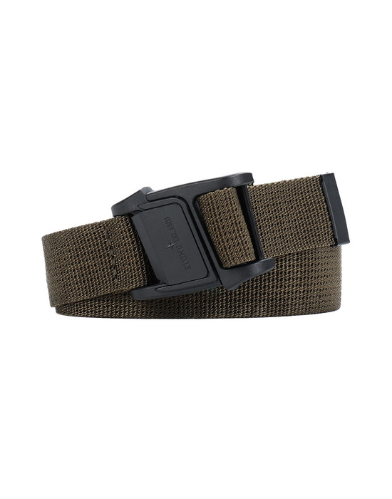 STONE ISLAND 94863 Belt Man Olive Green