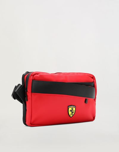 Scuderia Ferrari Online Store - Institutional bag convertible into a rucksack - Men's Bags