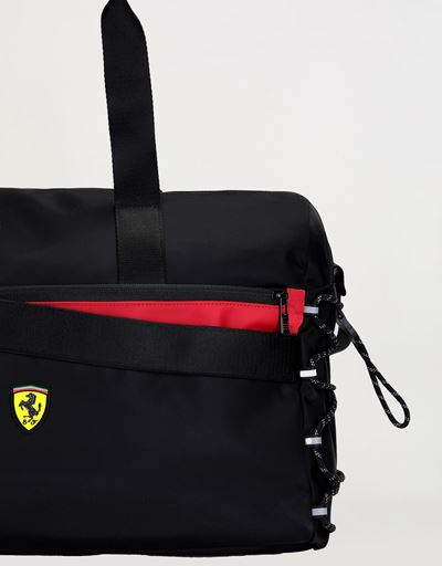 Scuderia Ferrari Online Store - Institutional travel bag with Shield - Duffle Bags